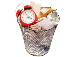 Clock In The Trash