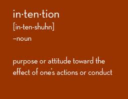 Intention Definition
